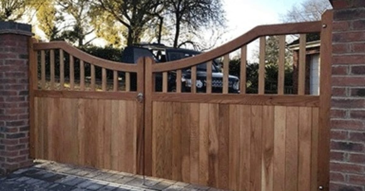 High Quality Wooden Gates Standard Sizes And Bespoke
